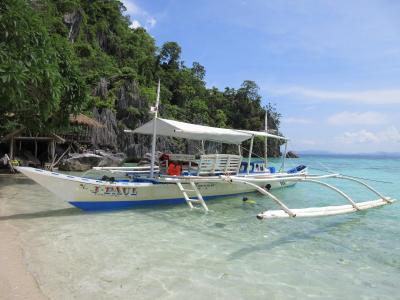 フィリピンの秘境で釣り三昧 四日目_おいらをビーチに連れてって!!