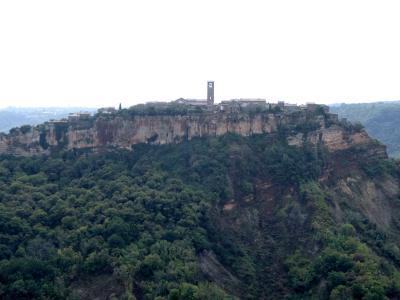 2016年秋 イタリア旅行 天空の城チビタ