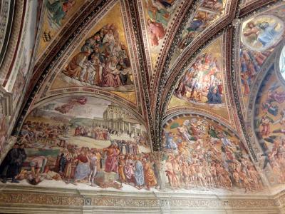 2016年秋 イタリア旅行 オルヴィエート 素晴らしいフレスコ画とトリュフの香り