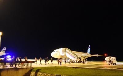 憧れのパークハイアット シェムリアップに泊まる旅 DAY 1 -初LCCと釜山と沖止めと-