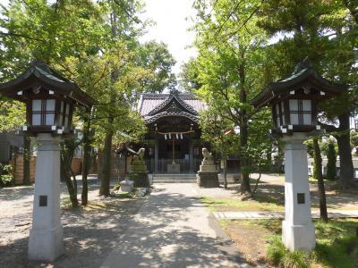 2016年 小ドライブ その1 横浜熊野神社 と 川崎日枝大神社