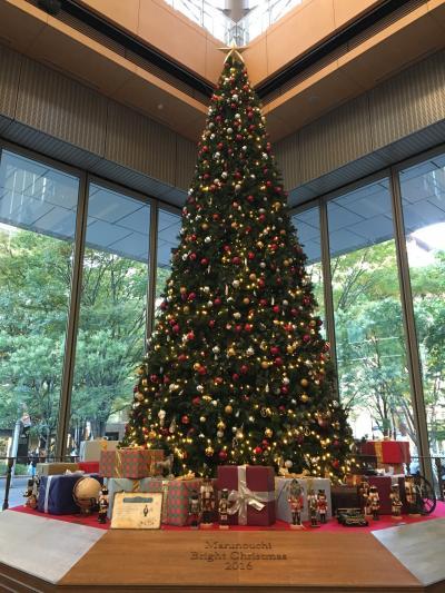 2016年11月  クリスマスツリーを求めて、表参道、丸の内をサイクリングしました。