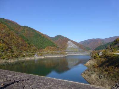 紅葉狩りで上大須ダムまで行ってきました(岐阜・本巣市)