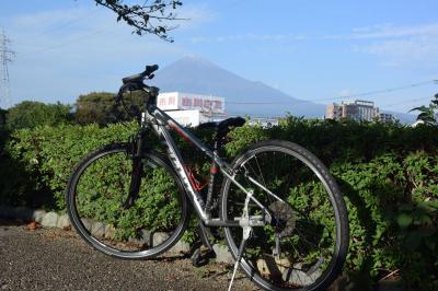 自転車でGO! 2016.10.31 =潤井川沿いに富士山見ながら走って来ました=