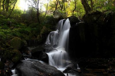 ◆ちょい早すぎた、みちのく最南端の紅葉・滝川渓谷&雷滝、Part2