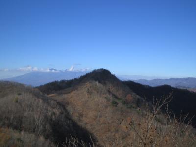 曲岳と黒富士 甲府駅集合解散