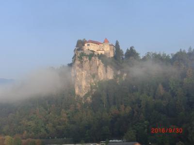 クロアチア・スロベニア・ボスニアヘルツェゴビナのツアー(2/11 ブレッド湖)