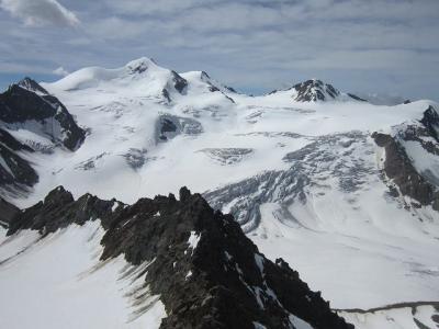2016・チロルでハイキング(その17・Wildspitzbahnの展望台とGletscherstubeへ)