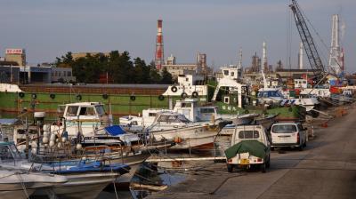 四日市 港湾風景