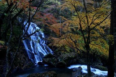 ◆晩秋の鮫川村の滝巡り・江竜田の滝編