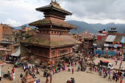 2016年秋(前編2)ネパール バクタプルへ