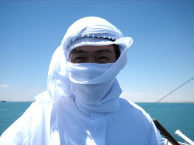 地球一周の船旅 vol.8 砂漠の中を船で行くスエズ運河通過の1日