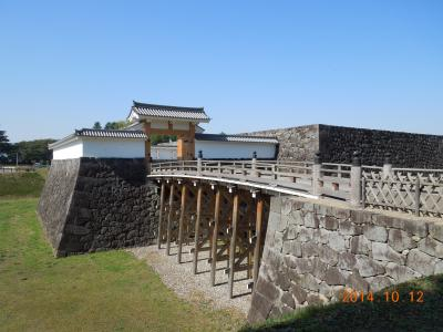 日本100名城巡り 福島・山形編 その二 山形城 秋保温泉ホテル「きよ水」に泊まる