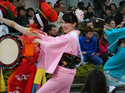 東京で初めて開催された東北六魂祭に行きました