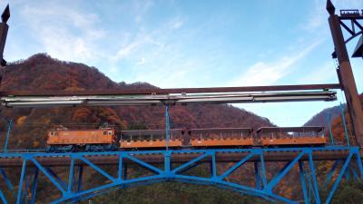 晩秋の黒部~飛騨高山