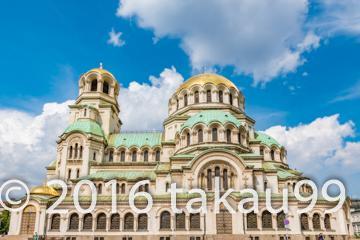 ブルガリア旅行記 ソフィアの町並み