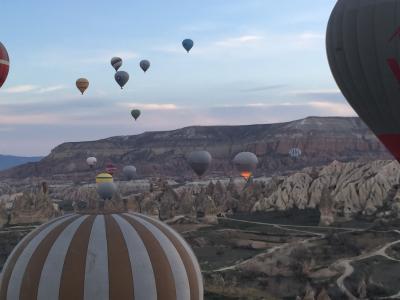 【世界一周】9-2.欧州最初はトルコ ②カッパドキアを飛んで、歩く