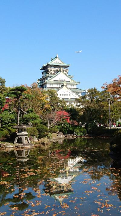 秋の大阪城をちょっとだけ 2016