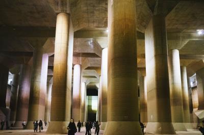 埼玉で大人の社会化見学♪ 地下神殿「首都圏外郭放水路」に行ってきた