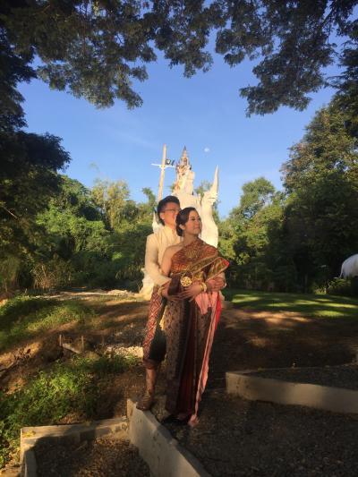 タイ サラブリー 息子の結婚式