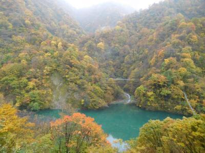 北陸・飛騨2016秋旅行記 【12】黒部峡谷2(宇奈月~欅平)
