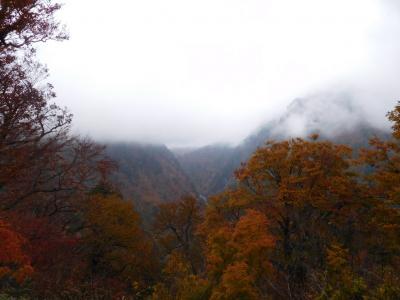 北陸・飛騨2016秋旅行記 【13】黒部峡谷3(欅平周辺1)