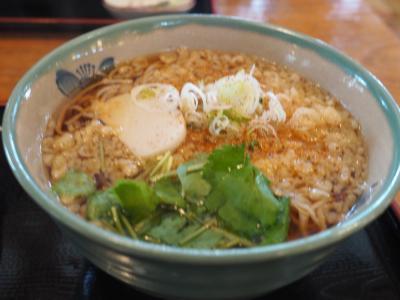 2016年10月、箱根旅行(昼は湿性茶屋でお蕎麦です)