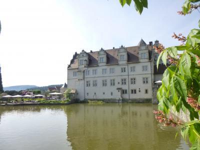 ドイツの春:北方二州を巡る・20ほら吹き男爵・ミュンヒハウゼンの5星古城ホテル