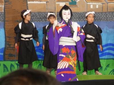 2016年11月20日(日) 鳥取県 南部町法勝寺子ども歌舞伎