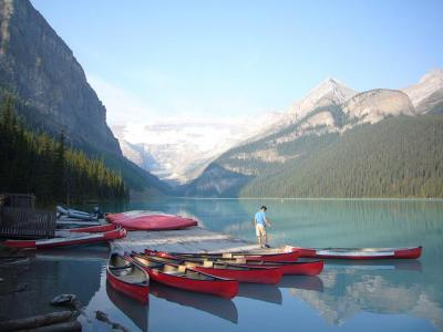 カナダ7日間の旅(1) カナディアンロッキー