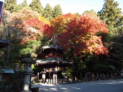 紅葉と パワースポットと 温泉と♪  その1 伊香保 水澤観音