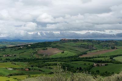 GWイタリア旅行2016年 4日目(オルチャ渓谷、モンティッキエッロ、ピエンツァ)