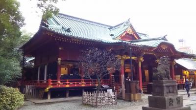 王子から日暮里へ移動し、谷中ぎんざ経由根津神社経由東京大学へ行ってきました。