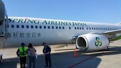 LCC春秋航空 中国武漢、往復1万円で行く1日目 その1 武漢天河国際空港到着