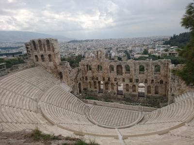 週末で弾丸アテネ観光♪