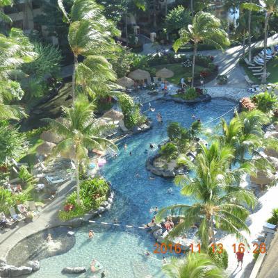 陰陽道ホテル:ハワイ Marriott's Ko Olina Beach Club 2016 11 13~17 ニコン60倍No.1