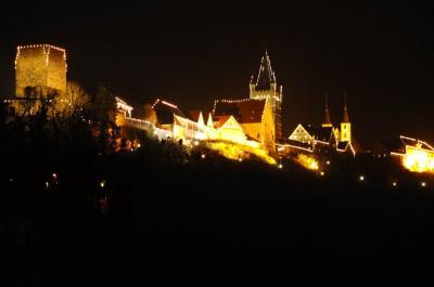 ドイツ・クリスマスマーケット、2016。バード・ヴィンプフェン。