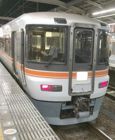 2016年8月 飯田線秘境駅へ (2日目-4)~帰路