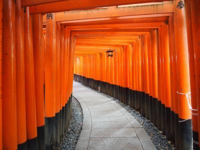 秋の京都ひとり旅【4】 二日目・朝の伏見稲荷参拝、御膳谷奉拝所へ