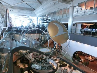 2016GW シチリア30:カターニャ->イスタンブール 初トルコ 空港ラウンジの豪華さに驚き