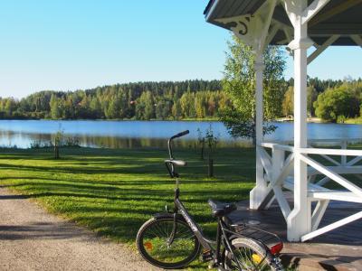2度目のフィンランドはヘルシンキで暮らすように旅しよう ♪     その6  ハメーンリンナへ1泊2日のショートトリップ!  朝はサイクリングでルンルン ♪