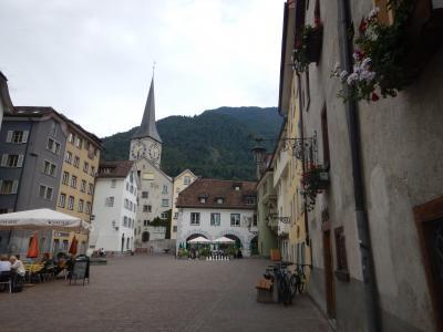 2016晩夏 イタリア&スイス・エンガディン旅行記 【12】 Churで寄り道散歩~帰国へ
