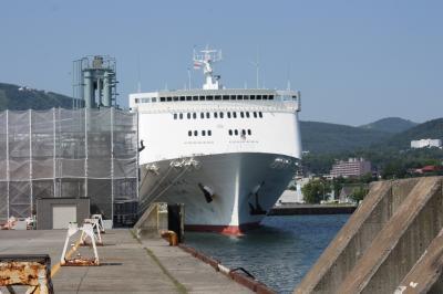 北海道旅行記2016年夏(23)新日本海フェリー乗船1日目編