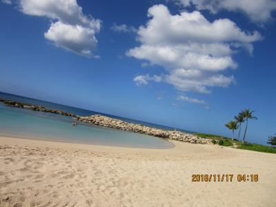 陰陽道 ハワイ・オアフ島西側Ulua lagoon・ディズニー・Marriott's Ko Olina Beach Clubから 2016 11 17  黒キャノンNo.11