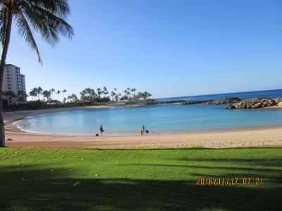陰陽道ハワイ Marriott's Ko Olina Beach Club 周囲 海 スーパー、バイキング  黒キャノンNo.17