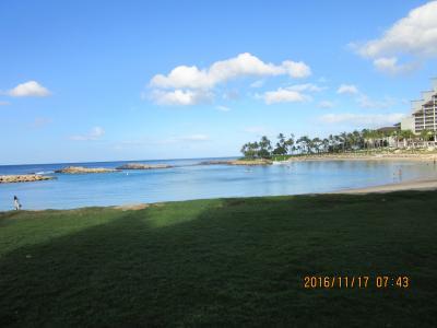 陰陽道 ハワイ・オアフ島コオリナ  Marriott's Ko Olina Beach Club 周辺散歩  2016 11 16   黒キャノンNo.18