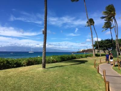 3度目のマウイ島11/18③のんびりマウイの海を楽しんで、ハイアットでスワンコートディナー