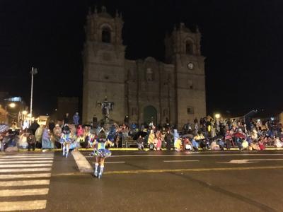 2016年南米旅行マチュピチュ・ウユニ(10)プーノで夜の街歩き★