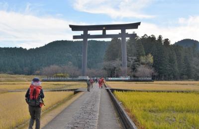 師走の熊野古道・中辺地を歩く
