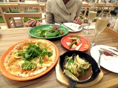 07.初CS進出のベイスターズを応援する横浜・広島の旅 カフェ&ワイン バジルの夕食